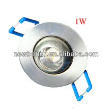 LED Downlight 1x1W, LED ceiling light, CE& RoHS