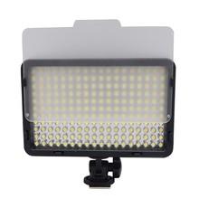 Mcoplus Bi-color LED Video Light with 198pcs LED Bulbs LED for iphone Flash Light