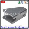 Fábrica de dongguan precio venta caliente de precisión personalizado en forma de u de metal soportes, plegable de metal soportes de montaje