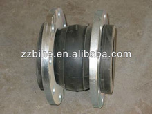 Volume-producing rubber expansion joints