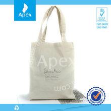 Banded cotton bag