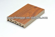 Custom make Wood plastic extrusion product welcome OEM and ODM