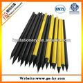 Matte black lápis de madeira