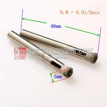 5mm diamond core drill bits for glass