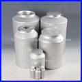 garrafas de alumínio de alumínio vazias potes de picles de barris para venda
