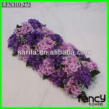 Wholesale silk flower hydrangea wedding flower arch