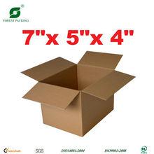 FOLDABLE PAPER BOX FOUR FLAPS FP72016