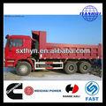 Máquinas de engenharia para o carvão / solo / areia / pedra / bulk transporte tipper 6 x 4 camião basculante capacidade de carga