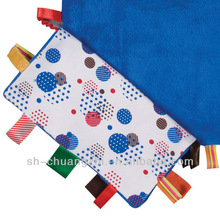 Baby doudou blanket colorful comforter
