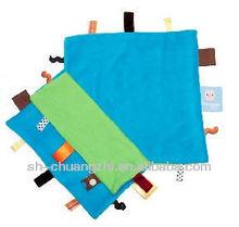 Baby doudou blanket blue comforter