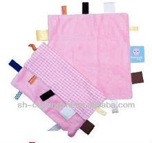 Baby doudou blanket pink comforter