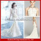 WD-2023 Stunning halter neckline 2013 african style wedding dresses low back