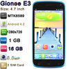 "Gionee Mobile Phone with 4.7"" MTK6589 Quad Core Android 4.2 1280x720p 16GB ROM 1GB RAM 2.0MP 8.0MP Camera E3 Gionee Mobile Phone"