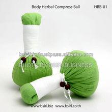 herbal compress ball body
