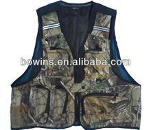 mesh lining floral print fishing vest mens XL