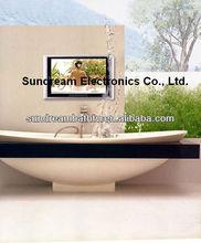 Canton fair HD ready S1901 dress table 19inch waterproof TV