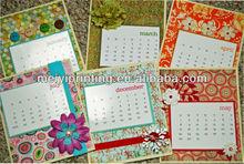 Professional Calendar Printing, Wall Calendar 2014 printing, Table Calendar