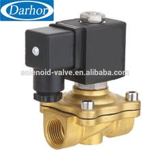 Long-lasting durability brass solenoid valve electromagnetic