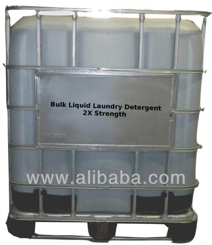 Bulk 2x Liquid Laundry Detergent - USA Made