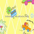 100% baumwolle 32*32 68*68 auto-design bedruckt fabic für Kind/Kind bettlaken