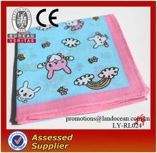 2015 Fashion Printed Kids cotton Handkerchiefs