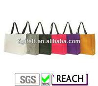 Fashion Mini Size Bright Color Ladies Tote Bags