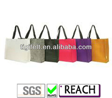 Fashion Mini Size Bright Color Ladies Tote Bags