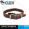 Hot selling pet products high quality dog leather collars SKL17