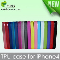 Hot Selling-Sublimation silicon cover case for iphone 4/4S