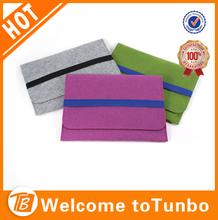 Colorful eco-friendly felt cases for tablets/tablet case for kids