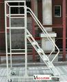 de la rueda 4 paso escalera