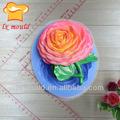 china flor feita de forma silicone molde do bolo da flor novo design