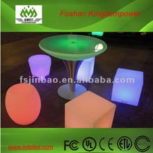 remote control flashing led pub bar table