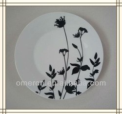 factory direct porcelain plates dishes for wholesale 2013