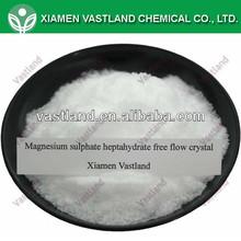 Sulfato de magnesio heptahidratado