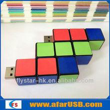wholesale usb cable cubic USB memory stick 64g usb pen drive 3.0