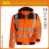 High visibility work jacket fluorescent work jackets
