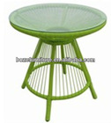 Rattan table outdoor furniture / wicker table garden furniture used restaurant