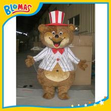 minion teddy bear costume custom mascot