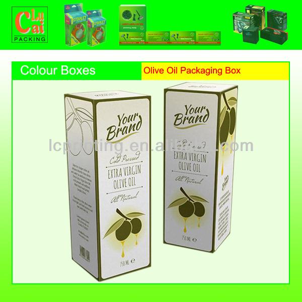 OEM eco-friendly cardboard olive oil boxes