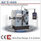 KCT-660 CNC spring coiling machine in Dongguan