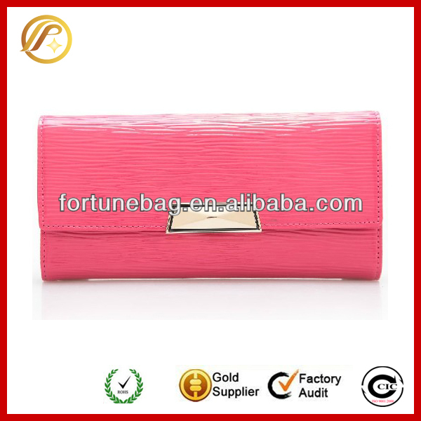 Fashion and trendy long flat wallets