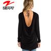 Black tunic lady clothing designer clothing wholesale