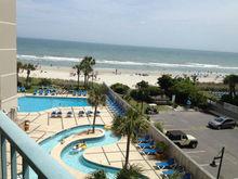 Sand Dunes hotel, Myrtle Beach, SC resort, USA