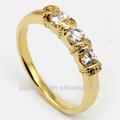O mais novo 10k alianças de ouro, anéis de casamento