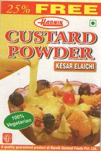 Custard Powder-Kesar Elaichi