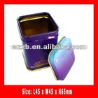 China coffer cookies candy tin can,gift box ,food packaging