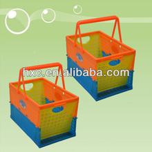 Portable Plastic Folding Cute Basket Of Shopping