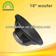 18 inches 600 watt speakers