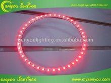 smd led angel eyes ring led marker headlight light,daylight led car